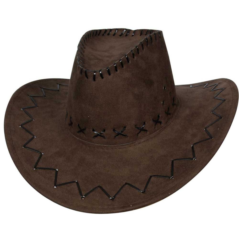 Brown Suede Cowboy Hat  8f2cdb9cfe11