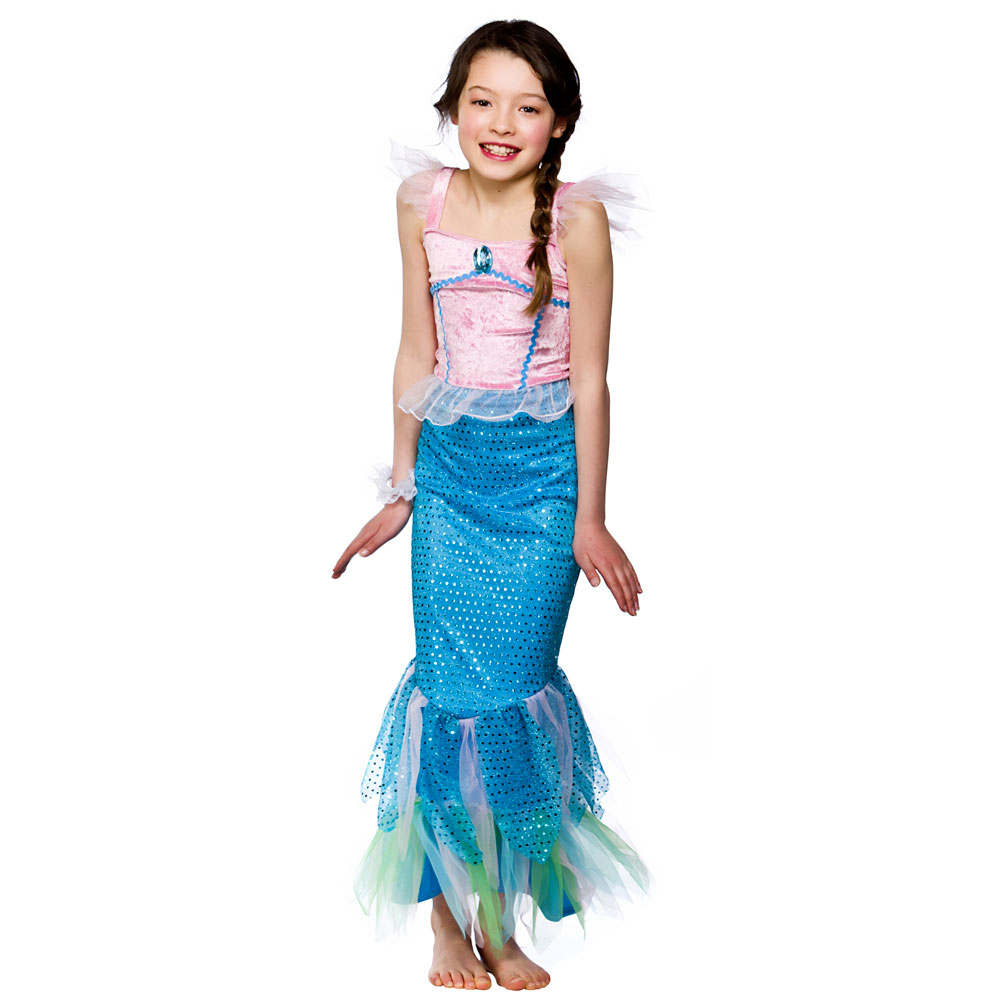 mystical mermaid girl costume | book week | ariel | the little