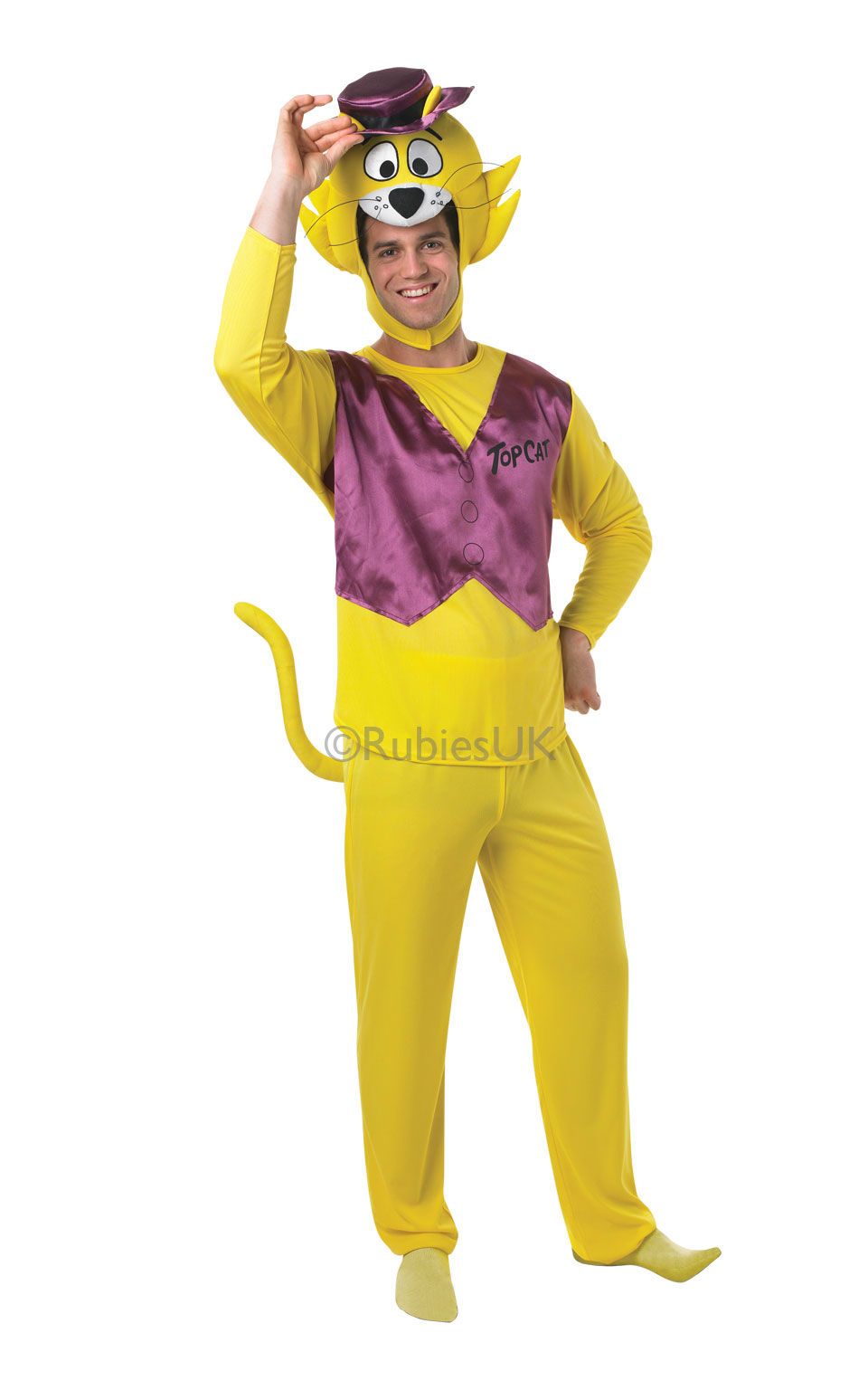 Cartoon Characters Outfits : Official top cat costume cartoon characters tv