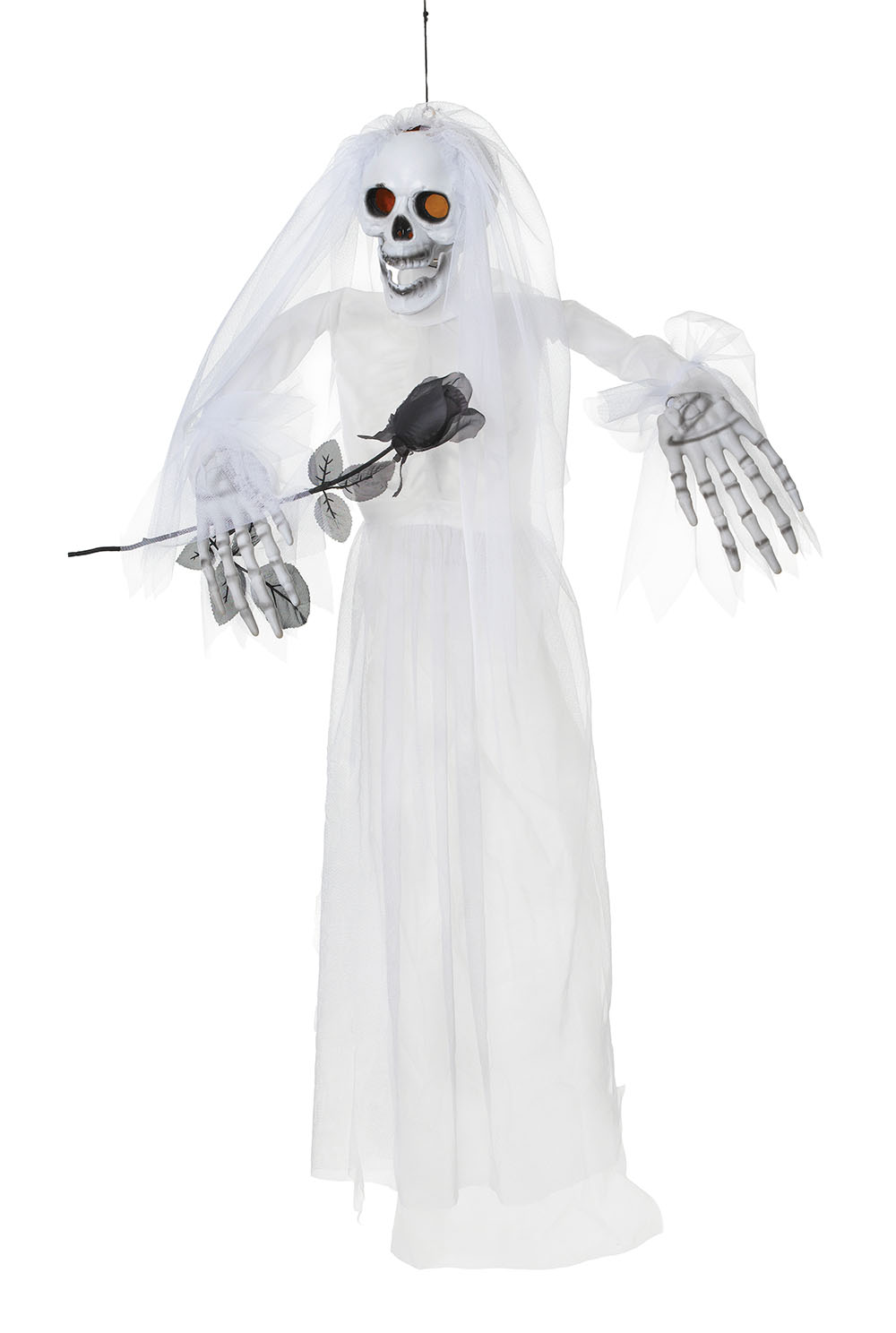 Vintage christmas decorations to make - This Hanging Skeleton Bride Is And Adult Item And Not Suitable For