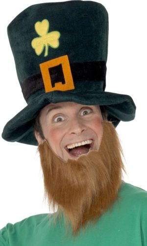Leprechaun Top Hat and Beard