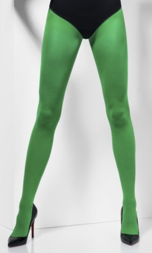 Green Opaque Tights