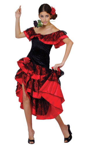 Spanish Senorita Lady Costume