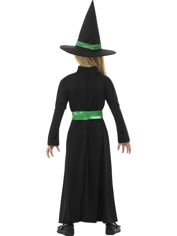 Wicked Witch Girl Costume | Wizard of OZ | Halloween | Green ...