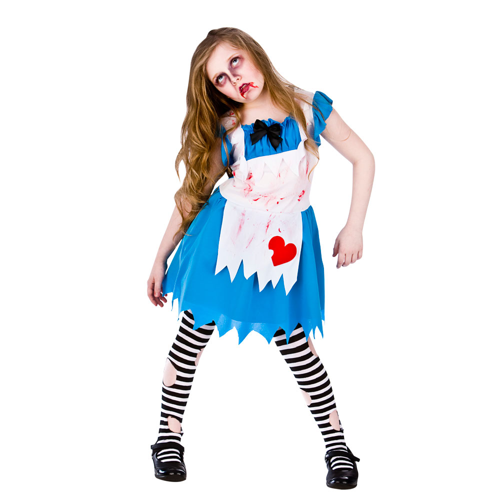 alice in zombieland girl costume | halloween | zombie | pageant party |